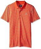 Lacoste Men's Golf Fine Stripe UltraDry Pique Knit