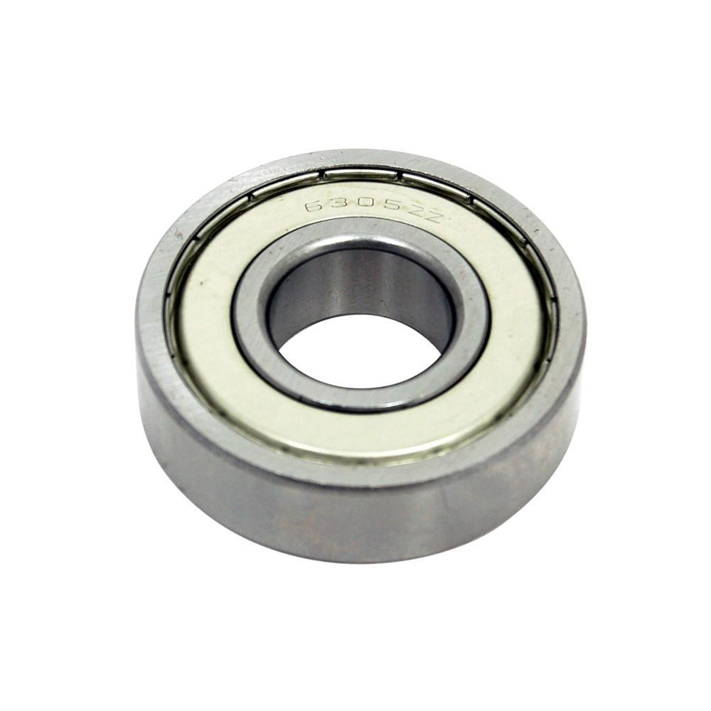 Challenge 6305-ZZ-C3 Single Row Deep Groove Radial Ball Bearing, C3 Clearance, Cage, Double Shielded, 17 mm Width, 25 mm ID, 62 mm OD, Steel