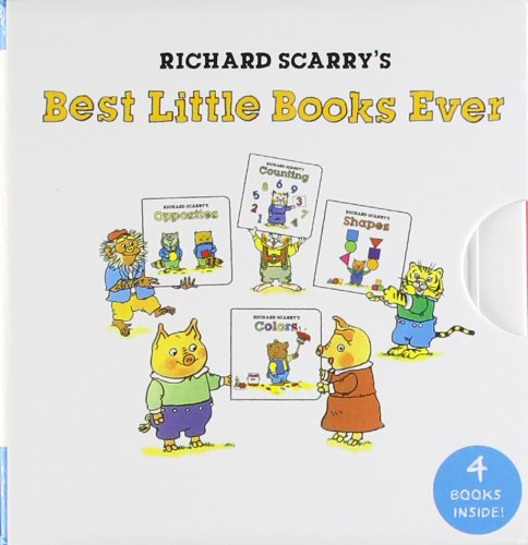 Richard Scarry's Best Little Books Ever (My Mini Book Collection) (Mini Alphabet Books)