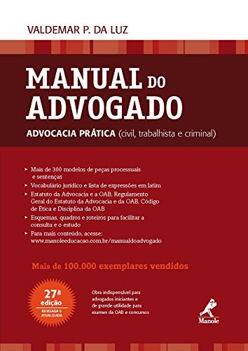 Manual do advogado advocacia prtica civil trabalhista e criminal manual do advogado advocacia prtica civil trabalhista e criminal portuguese edition fandeluxe Choice Image