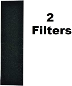 Compatible with 5304440335 Carbon Filter Pad Compatible Microwave Oven Replace 2-1/2 x 11 x 1/4 No Frame