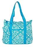 Ever Moda Damask Tote Bag X-Large