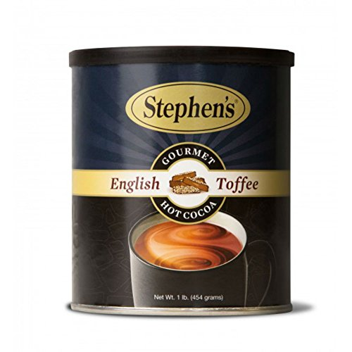 Hot 1 Beverage (Stephen's Gourmet English Toffee Cocoa, 1 lb Canister)