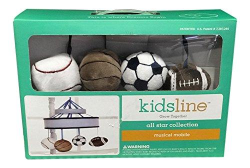 Kidsline All Star Musical - Football Mobile Baby