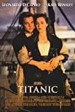 Titanic Poster Movie 27x40 Kate Winslet Leonardo DiCaprio Billy Zane