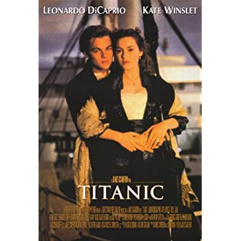 amazoncom titanic poster movie f 11x17 kate winslet