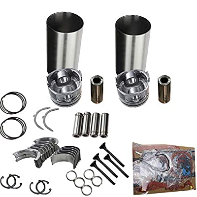New Overhaul Rebuild Kits with Liners Z750 for Kubota Engine L175 L185 L1501 L1500: Automotive