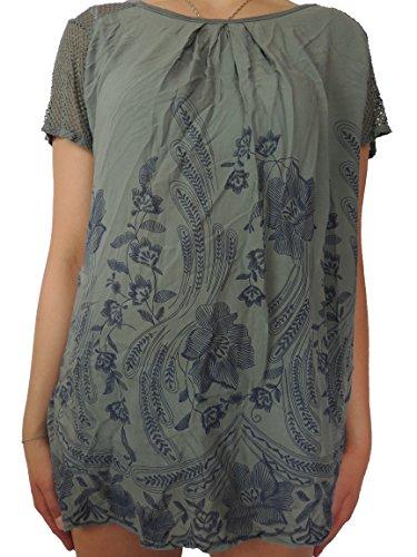 Nowingline - Camisas - para mujer caqui