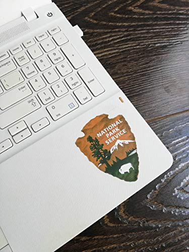 National Park Service pop Vinyl | 5 - Sizes Patch Laptop Bumper Sticker | National Park Service car Decal (3