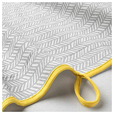 IKEA.. 803.730.86 Klämmig Changing Pad, Gray, Yellow: Home & Kitchen