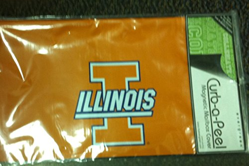 Team Sports America Illinois Magnetic Mail Box Cover