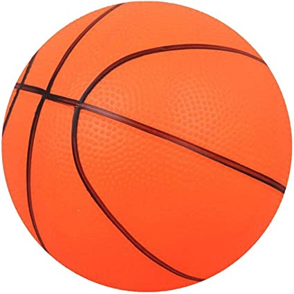 Mini Bouncy Basketball Indoor//Outdoor Sports Ball Kids Toy Gift-Orange