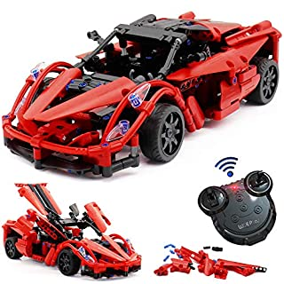Stem Building Set 380pcs Toys for Boys, Build a Remote Control Race Car Kit, 380pcs Stem Toy Building Set for Boy 8-12, Birthday Gift for 8, 9, 10, 11, and 12 Year Olds