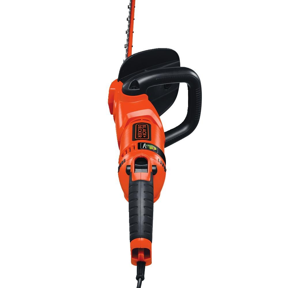 """BLACK+DECKER HH2455 3.3-Amp HedgeHog Hedge Trimmer with Rotating Handle And Dual Blade Action Blades, 24"""""""