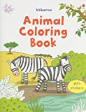 Animal Coloring Book with Stickers, Jessica Greenwell, 0794525067