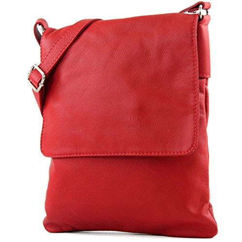 Made Italy - Bolso cruzados para mujer rojo - rojo