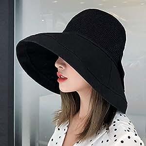 Amazon.com: HAIPENG Gorra Sombreros de playa UPF50+ Mujer ...