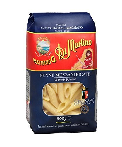 Pastificio G. Di Marlino Penne Mezzani Rigate 16 oz (Pack of 2) by Pastificio G. Di Marlino