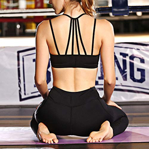 Golpes Reunión Libre Deportiva A De Chaleco Interior Sujetador Aptitud Yoga Ejercicio Zuo Shuang Black Yu Ropa Transpirable Prueba Aire Al BnUCq