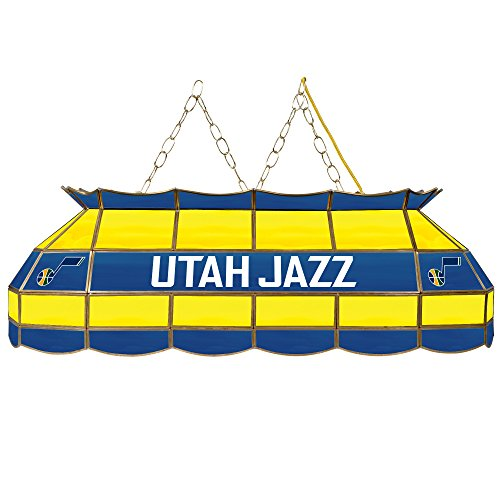NBA Utah Jazz Tiffany Gameroom Lamp, 40'' by Trademark Gameroom