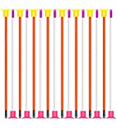POKONBOY 16 Pack Replacement Suction Cup Arrows, Arrows for Kids Archery Set Compatible with Most...