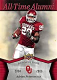 Adrian Peterson football card (Oklahoma Sooners) 2011 Upper Deck All Time Alumni #ATA-AP Running Back