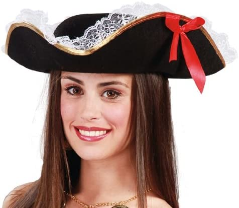 Alco Sombrero Mujer Pirata: Amazon.es: Juguetes y juegos