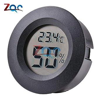 Mini LCD Digital Thermometer Hygrometer Fridge Freezer Temperature Sensor Humidity Meter Detector Indoor Gauge Instruments: Amazon.com: Industrial & ...