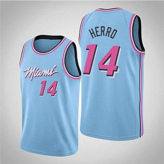 Z/A Jersey Miami Heat Uniforme de Baloncesto Traje sin Mangas ...