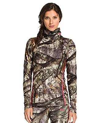 Under Armour Women's Coldgear Infrared Evo Scrunch Neck Long Sleeve Shirt