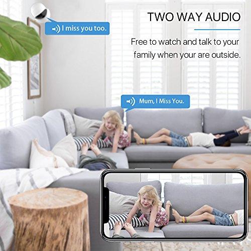 Wireless Security Camera, 2019 Upgraded IKARE 1080P Indoor Home