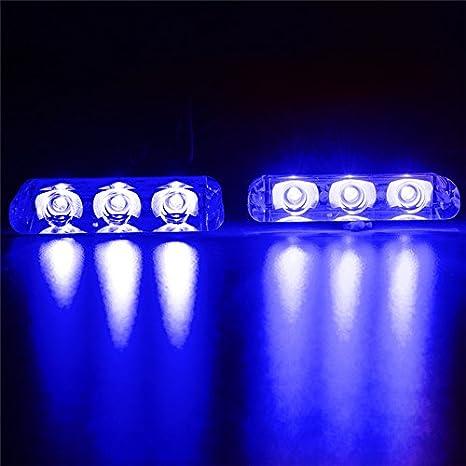 Luce Al Led.Luci Di Emergenza Al Led Multi Modale Con Luce Stroboscopica E Lampeggiante Durature