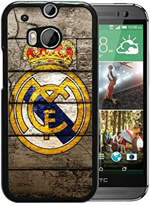 Amazon.com: HTC ONE M8 Real Madrid 2 Black Screen Phone Case ...