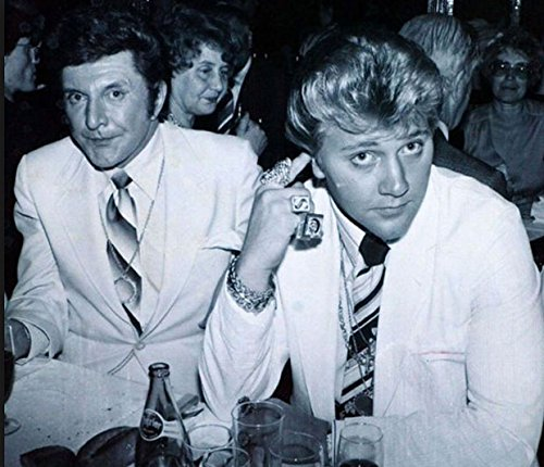 An 8 x 10 Photo Framed Liberace's Ex-Lover Scott Thorson by Celebrity Framed Art