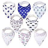 Best Mosts - Baby bandana drool bibs for drooling and teething,soft Review
