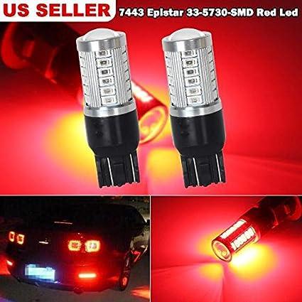 partsam 7443 7505 33-epistar-5730-smd rojo de alta potencia ...