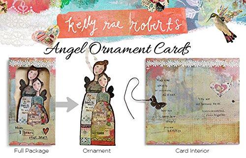 Kelly Rae Robert Angel Ornament Card - FRIEND Photo #2