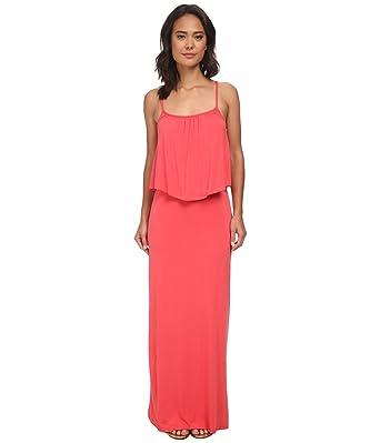 Culture Phit Women s Monicah Maxi Dress Coral Dress LG at Amazon ... 3b643abae