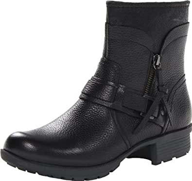 Clarks Riddle Avant Womens Black Leather Boot 5-MEDIUM