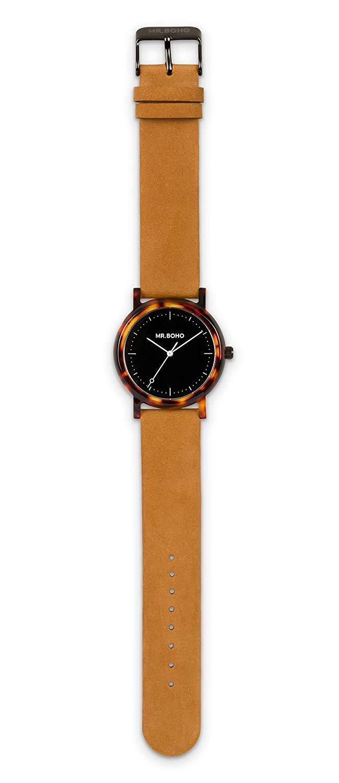 Mr Boho Reloj Mujer 36mm con Correa Marron y Pantalla en Marron 00728635: Amazon.es: Deportes y aire libre