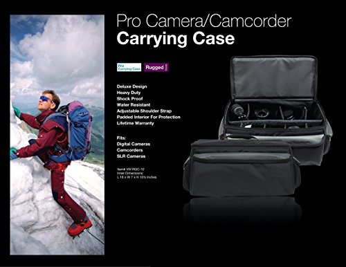 Buy canon camcorder carrying case