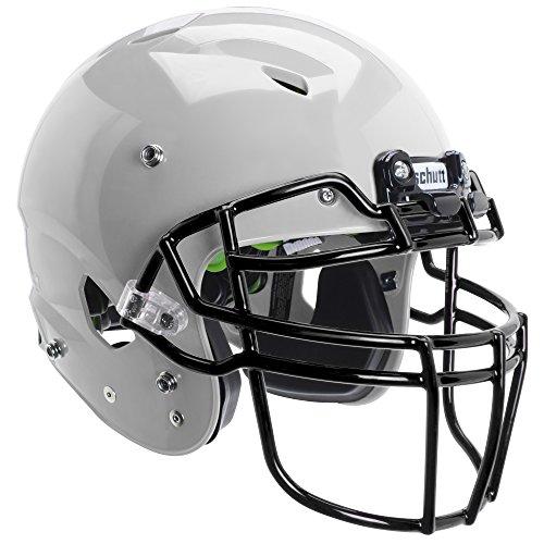 Schutt Sports Vengeance A3 Youth Football Helmet (Facemask NOT Included), Metallic Silver, Medium