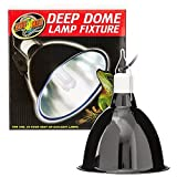Zoo Med Deep Dome Lamp Fixture, 8.5'' bottom diameter