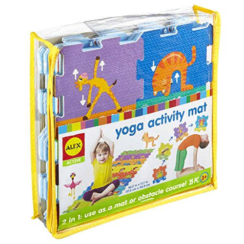 Yoga Activity Mat is a great indoor exercise toy for kids
