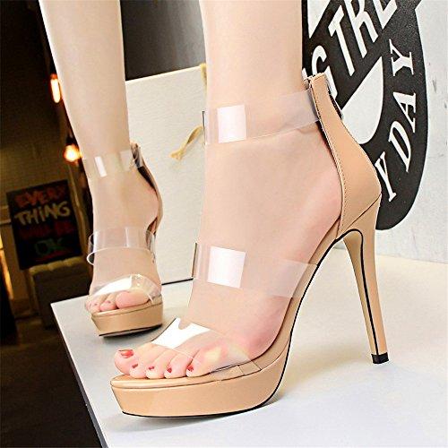 Zapatos transparentes sexy Demonia para mujer Zapatos azules Adidas Terrex para mujer 5HR1yBAAi