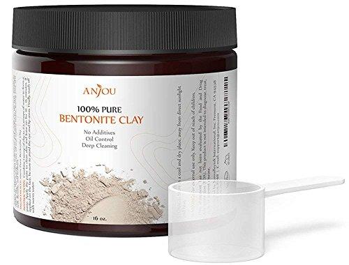 Clay Mask 16 OZ, Sodium Bentonite Clay Powder, Natural Organ