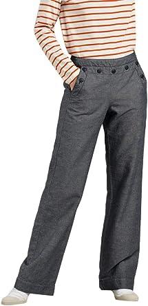 Mat de Misaine Pantalon Marin à Pont Femme:
