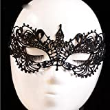 RedSonics adult game for couples Black Cutout Mask Lace Face Mask Veil Sexy Prom Party Halloween Mask Party Sex products