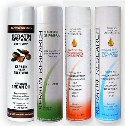 Сложный бразильский Глобальный бразильский комплекс Кератин Лечение волос 4 бутылки 300 мл Набор включает Сульфат