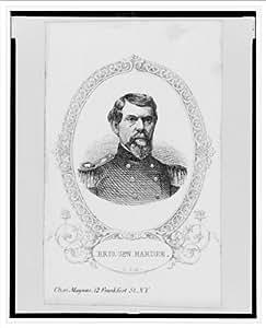 Historic Print (L): Brig. Gen. Hardee / Chas. Magnus, N.Y.